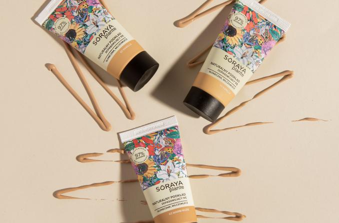 Lekki makijaż z nowymi podkładami Soraya Plante